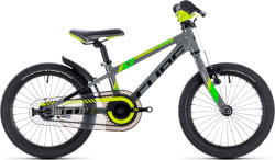 Велосипед Cube KID 160 grey-green-kiwi