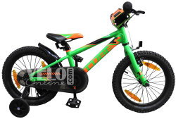 Велосипед Cube KID 160 flashgreen-orange