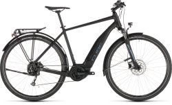 Электровелосипед Cube TOURING HYBRID ONE 400 black-blue