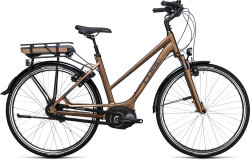 Велосипед Cube TRAVEL HYBRID 400 havanna-brown-orange
