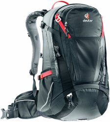 Велосипедный рюкзак Deuter TRANS ALPINE 32 EL graphite-black