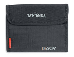 Кошелек Tatonka Euro Wallet RFID B (Black)