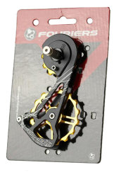 Ролики Fouriers CT-DX007-H91-1216 SHIMANO 9100 gold