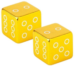 Колпачки Fouriers US001 CUBE gold