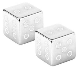 Колпачки Fouriers US001 CUBE silver