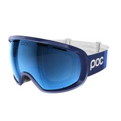 Маска горнолыжная POC Fovea Clarity Comp (Lead Blue/Spetris Blue)