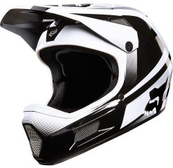 Велосипедный шлем FOX RAMPAGE COMP IMPERIAL black-white
