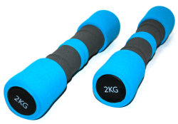 Гантель Lifesport Dumbbell Iron+Foam 1X2.0Kg