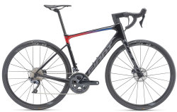Велосипед Giant DEFY ADVANCED PRO 1 carbon electric blue-red