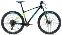Велосипед Giant FATHOM 1 GE 29 black-blue