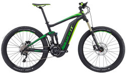 Велосипед Giant FULL-E+ 2 black-green