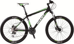 Велосипед Giant RINCON DISC 26 black-green