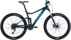 Велосипед Giant STANCE 2 27,5 black-blue