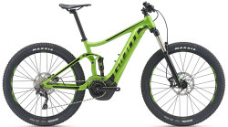 Электровелосипед Giant STANCE E+ 2 POWER 25km/h 27.5+ green