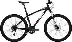 Велосипед Giant TALON 3 LTD 27.5 black-red