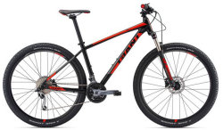 Велосипед Giant TALON 2 GE 29 black-red