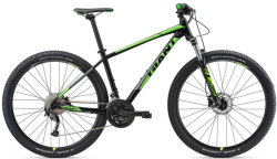Велосипед Giant TALON 3 GE 29 black-green
