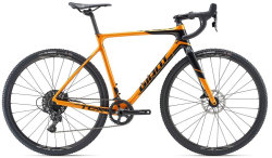 Велосипед Giant TCX ADVANCED metallic orange-black