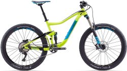 Велосипед Giant TRANCE 2 27.5 yellow-black