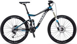 Велосипед Giant TRANCE 4 27.5 black-blue