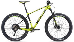 Велосипед Giant XTC ADVANCED + 2 27.5 neon yellow