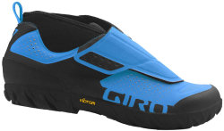 Велотуфли Giro TERRADURO MID blue jewel-black