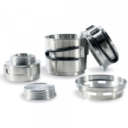 Горелка Tatonka Alcohol Burner Set набор спиртовой Silver