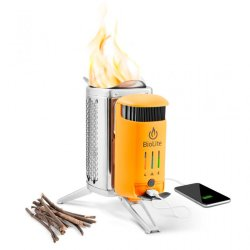 Горелка-зарядка на дровах BioLite CampStove 2 with Flexlight