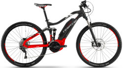 Велосипед Haibike SDURO FULLNINE 6.0 27,5 anthracite-red-white