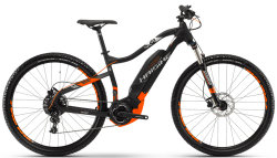 Велосипед Haibike SDURO HARNINE 2.0 29 black-orange-silver matt