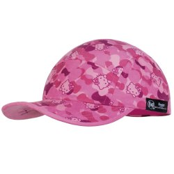 Кепка Buff Kids 5 Panels Cap Hello Kitty Camo Pink