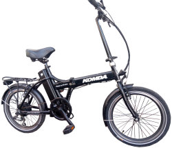 Велосипед Komda FOLDING E-BIKE 20 black