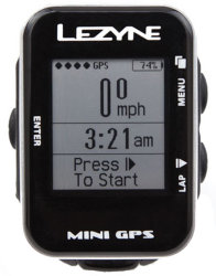 Велокомпьютер Lezyne MINI GPS black-silver