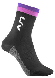 Носки Liv RACE DAY black-purple-pink