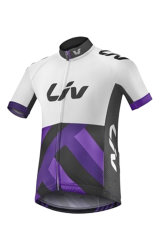 Веломайка Liv SS RACE DAY KIDS white-purple