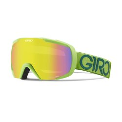 Маска Giro ONESET Flash Green/lime Dual LodenYellow20%