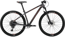 Велосипед Merida BIG.NINE 600 matt dark silver black-red