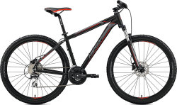 Велосипед Merida BIG.SEVEN 20-D 27.5 matt black red-silver