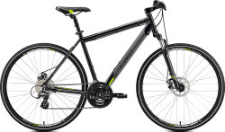 Велосипед Merida CROSSWAY 15-MD metallic black green