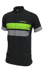 Веломайка Merida E-TRAIL SHORT SLEVE JERSEY green-grey