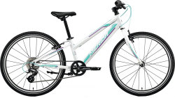 Велосипед Merida MATTS J24 RACE race pearl white purple-teal