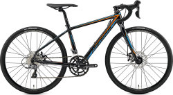 Велосипед Merida MISSION J.ROAD 4S metallic-black orange-blue