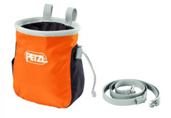 Мешочек Petzl SAKA orange для магнезии