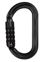 Карабин Petzl OK triact-lock black