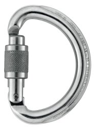 Карабин Petzl OMNI Screw-Lock silver
