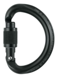 Карабин Petzl OMNI Screw-Lock black