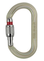 Карабин Petzl OXAN screw-lock grey