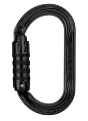 Карабин Petzl OXAN triact-lock steel black