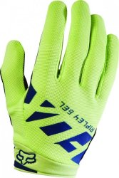 Перчатки Fox WOMENS RIPLEY GEL GLOVE NVY/YLW
