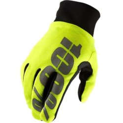 Перчатки Ride100% BRISKER Hydromatic Waterproof, Neon Yellow